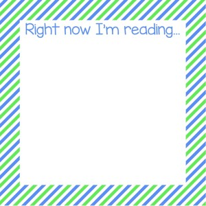Right now I'm reading - Blank