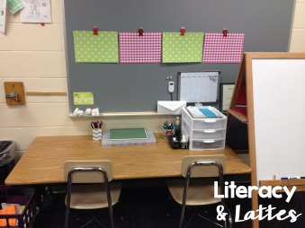 Reading Recovery Classroom Space