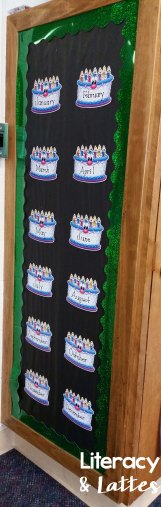 Classroom Birthday Bulletin Board