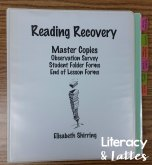 Reading Recovery Master Copies