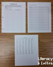Reading Recovery Student Forms