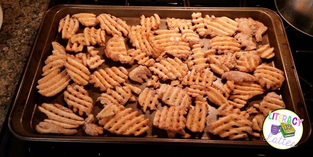 cook fries