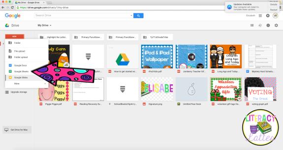 Google spreadsheet 01