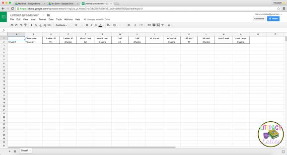 Google spreadsheet 02