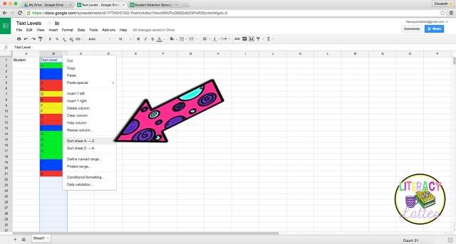 Google spreadsheet 11