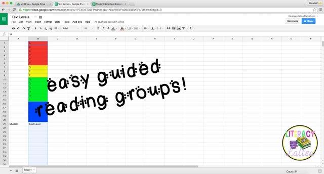 Google spreadsheet 12