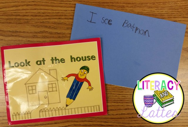 look at the house student written book