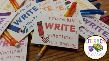 pencil valentines