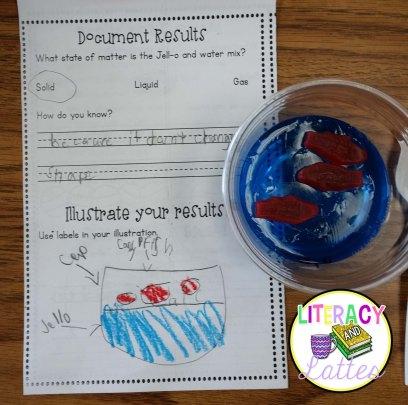 blue fish jello