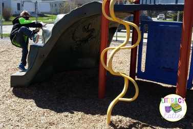 forces on the playground