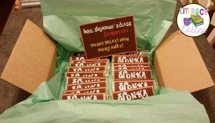 wonka bars in box