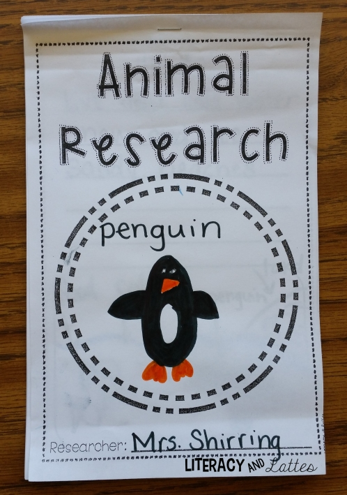 my animal research book