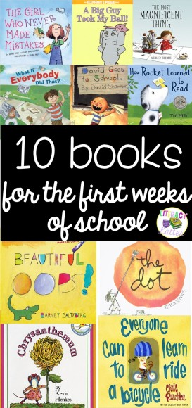 books for back to school long pin