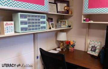 classroom office area