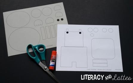 print and go craftivities